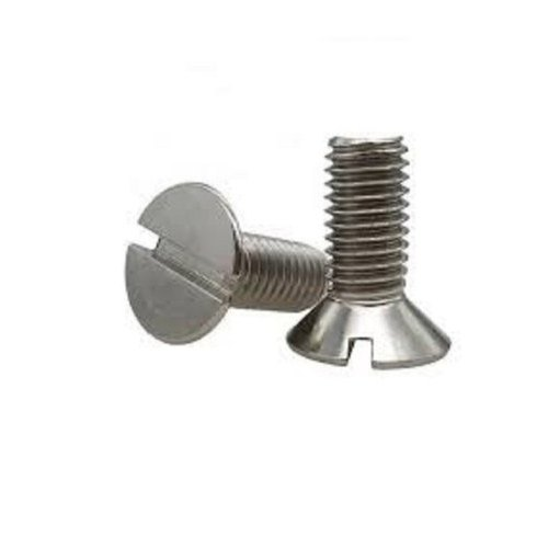 Mild Steel CSK Slotted Machine Screw Suppliers