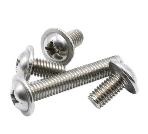 Stainless Steel Pan Phillips Machine Screw in Etah